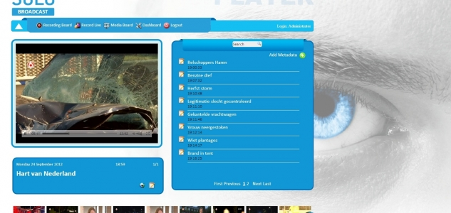 Logdepot solo broadcast player