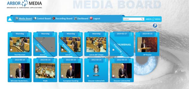 Mediaboard conference recording