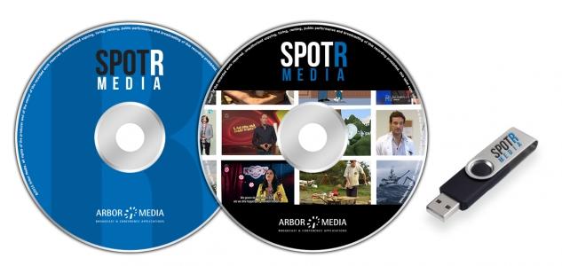 Spotrmediausb dvd